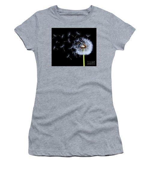 Silhouettes Of Dandelions Women's T-Shirt (Junior Cut) by Bess Hamiti