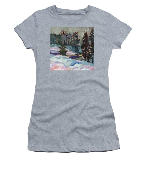 Snow Day Women's T-Shirt