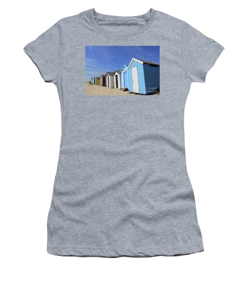 Southwold Beach Huts Women's T-Shirt