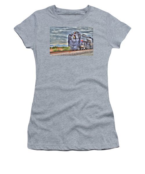 Steam Train No 844 Women's T-Shirt (Athletic Fit)