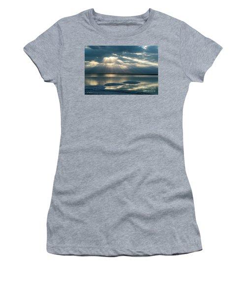 Sunrise At The Dead Sea Women's T-Shirt