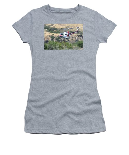 Taking Off Women's T-Shirt (Junior Cut) by Shoal Hollingsworth