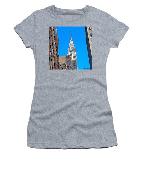 #tbt - #newyorkcity June 2013 Women's T-Shirt (Athletic Fit)