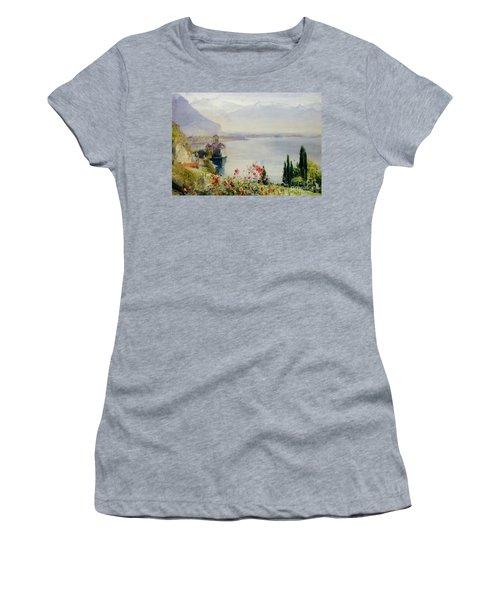 The Castle At Chillon Women's T-Shirt