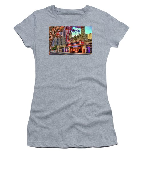 The Fabulous Fox Theatre Atlanta Georgia Art Women's T-Shirt (Athletic Fit)