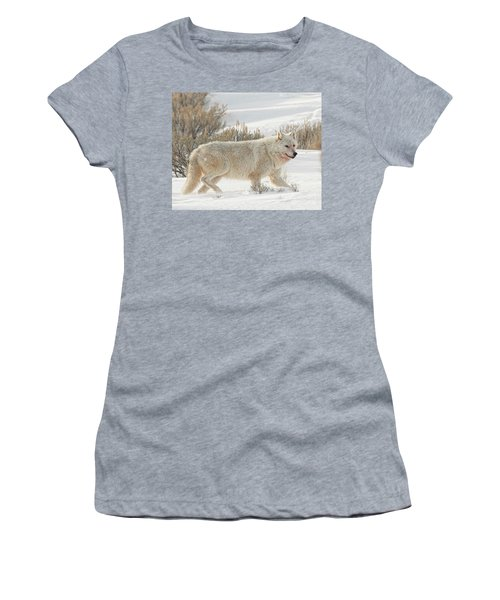 The White Lady Women's T-Shirt (Athletic Fit)