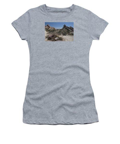 Vasquez Rocks Women's T-Shirt (Athletic Fit)