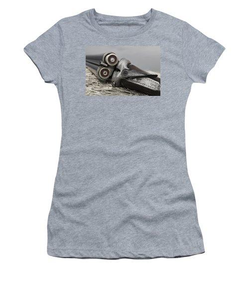 Webley And Scott 12 Gauge - D002721a Women's T-Shirt (Athletic Fit)