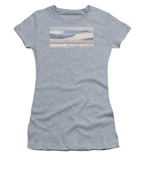 White Sands New Mexico Women's T-Shirt (Junior Cut) by Elvira Butler