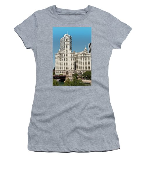 Wrigley Building Women's T-Shirt