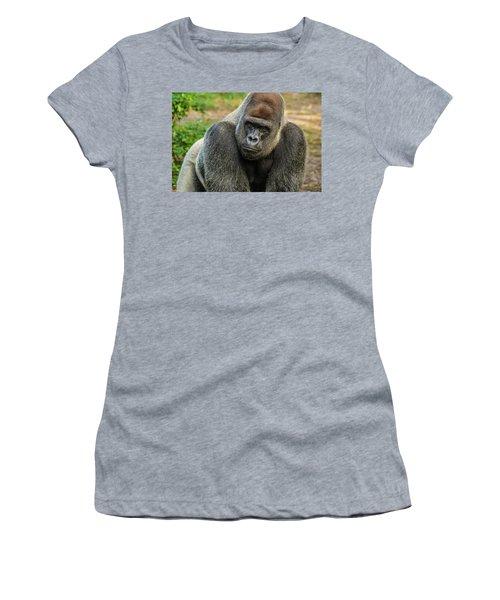 10898 Gorilla Women's T-Shirt (Athletic Fit)