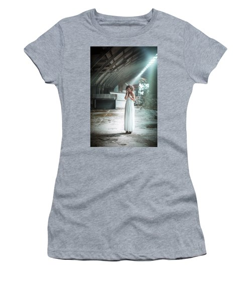 Women's T-Shirt (Athletic Fit) featuring the photograph Giulia by Traven Milovich
