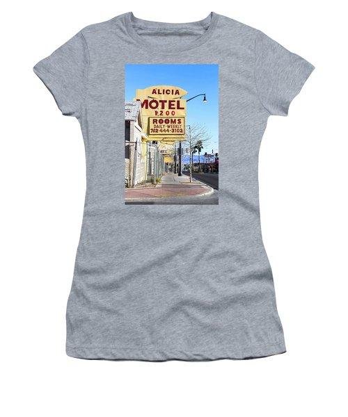 Remnants Of Vintage Vegas Women's T-Shirt