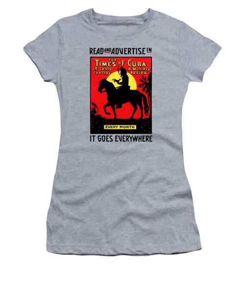 1920 The Times Of Cuba Women's T-Shirt