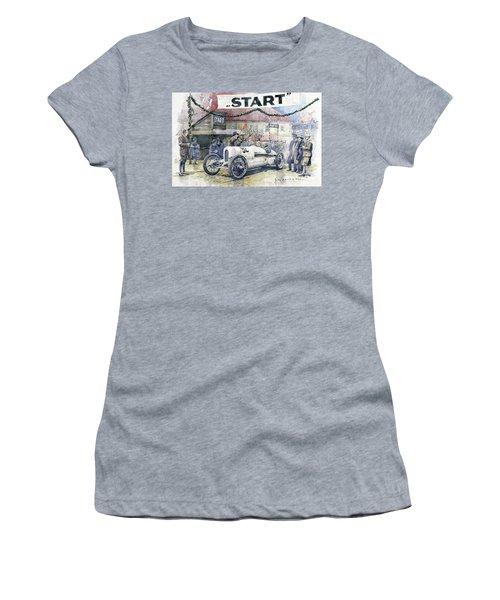 1924 Zbraslav-jiloviste Regularity Ride To The Top Start Walter W-0 Women's T-Shirt