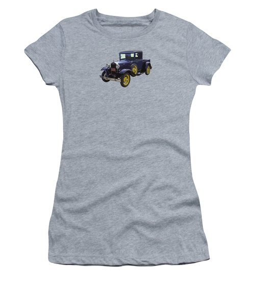 1930 - Model A Ford - Pickup Truck Women's T-Shirt (Athletic Fit)