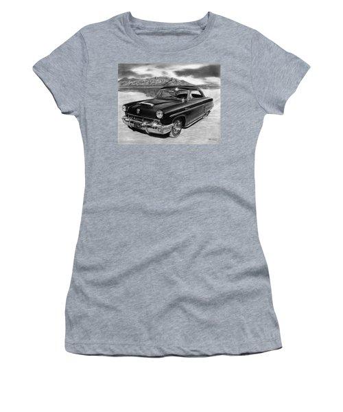 1953 Mercury Monterey On Bonneville Women's T-Shirt (Athletic Fit)