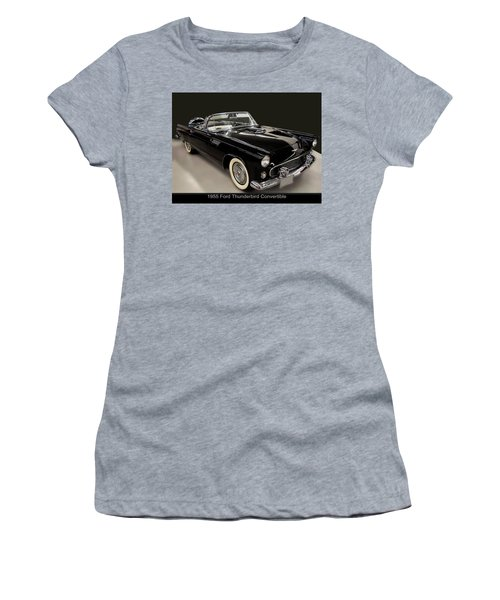 1955 Ford Thunderbird Convertible Women's T-Shirt