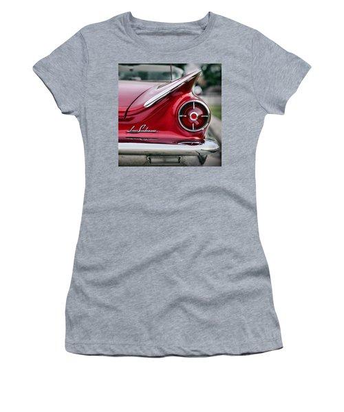 1960 Buick Lesabre Women's T-Shirt (Athletic Fit)