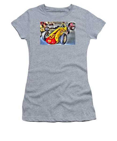 1963 Eddie Sachs Indy Car Women's T-Shirt (Athletic Fit)