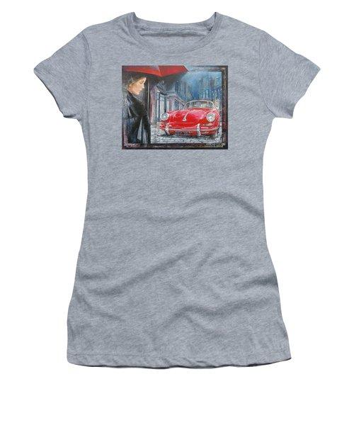1964 Porsche 356 Coupe Women's T-Shirt