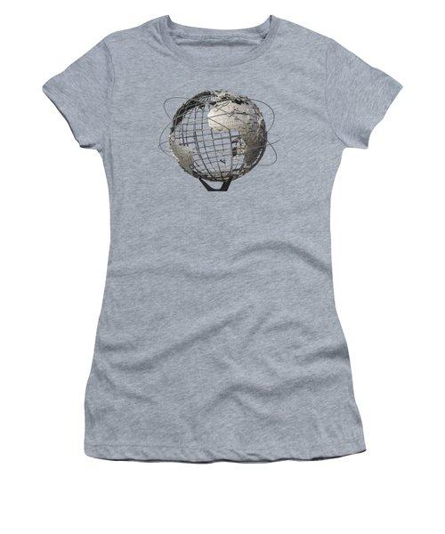 1964 World's Fair Unisphere Women's T-Shirt (Athletic Fit)