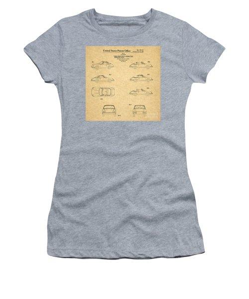 1966 Porsche Car Patent 1 Women's T-Shirt
