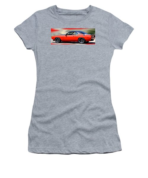 1970 Dodge Challenger Srt Women's T-Shirt (Athletic Fit)