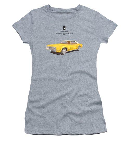 1970 Oldsmobile Toronado Women's T-Shirt (Athletic Fit)