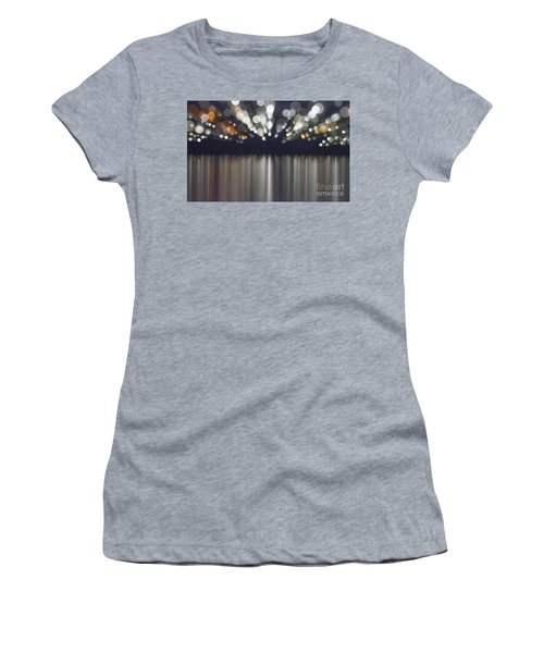 Abstract Light Texture With Mirroring Effect Women's T-Shirt