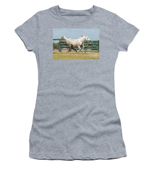 Arabian Horse Running Women's T-Shirt