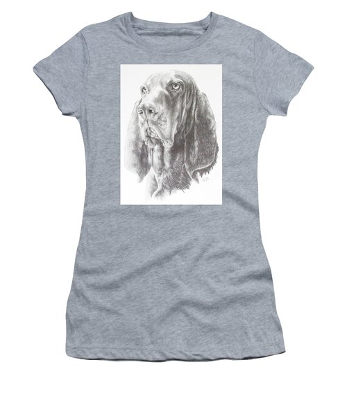 Black And Tan Coonhound Women's T-Shirt