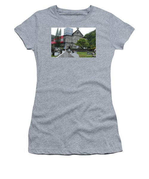 Women's T-Shirt (Athletic Fit) featuring the photograph Church by Gary Wonning