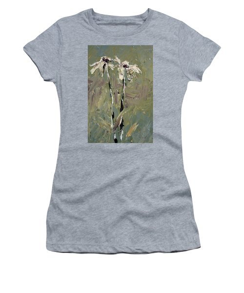 Cone Flowers Women's T-Shirt (Junior Cut) by Jim Vance