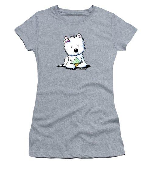 Cupcake Westie Women's T-Shirt