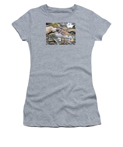 Gaze Women's T-Shirt (Junior Cut) by Zinvolle Art