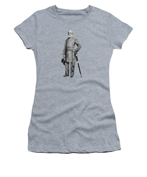 General Robert E. Lee Women's T-Shirt (Athletic Fit)