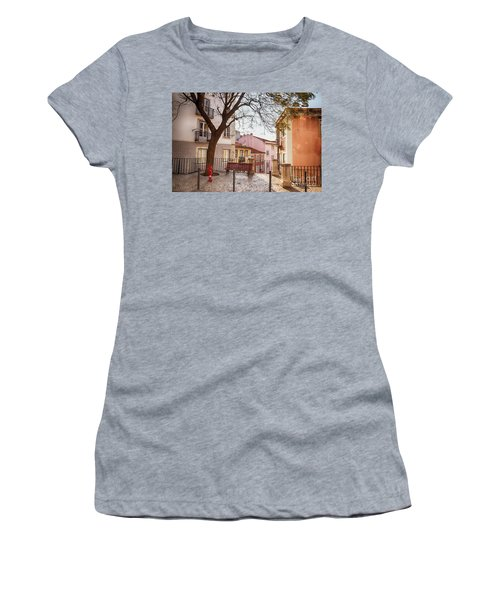 Lisbon's City Street Women's T-Shirt