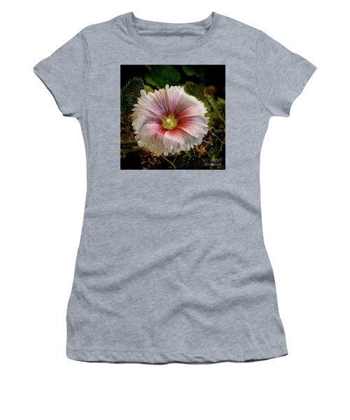 Pink Hollyhock Women's T-Shirt