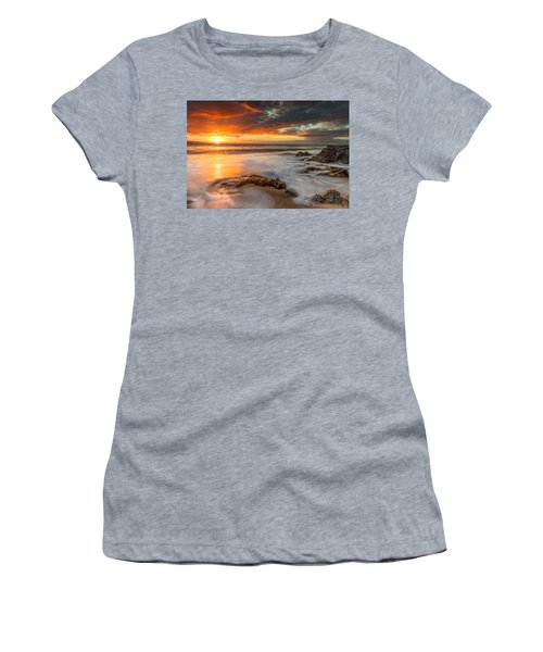 Poolenalena Sunset Women's T-Shirt (Junior Cut) by James Roemmling