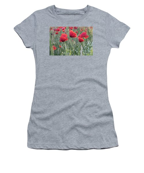 Poppy Flowers Women's T-Shirt