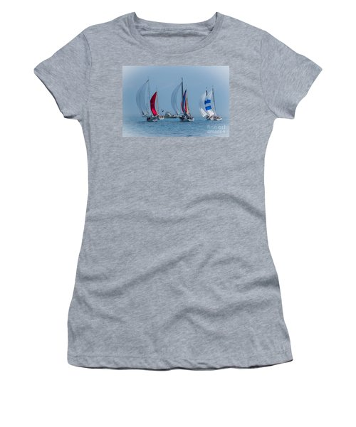 Port Huron To Mackinac Race 2015 Women's T-Shirt (Athletic Fit)