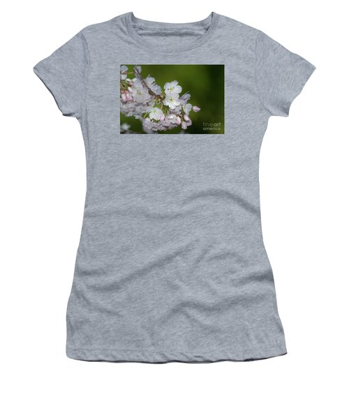Silicon Valley Cherry Blossoms Women's T-Shirt (Junior Cut) by Glenn Franco Simmons