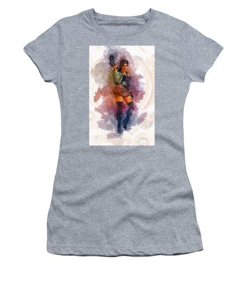 Steampunk Girl Women's T-Shirt
