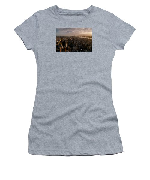 The View  Women's T-Shirt (Junior Cut) by Anthony Fields
