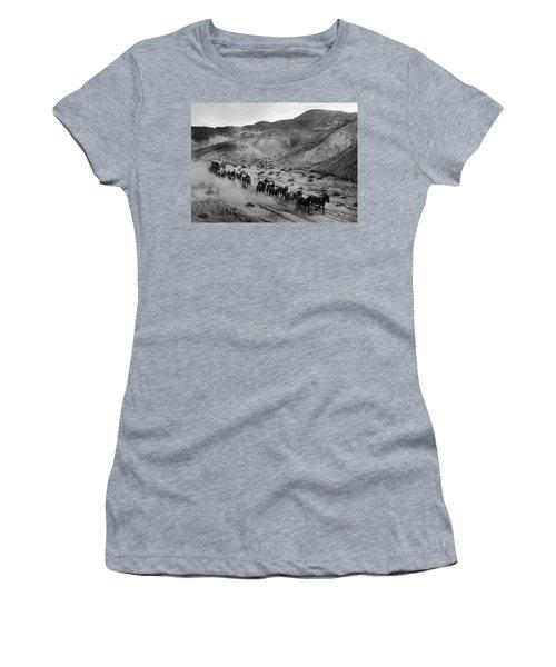20 Mule Team Borax Hauling - Death Valley C. 1899 Women's T-Shirt