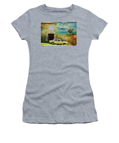 24 Hr Parking By The Beach Women's T-Shirt