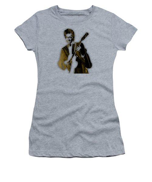 Chuck Berry Collection Women's T-Shirt (Junior Cut) by Marvin Blaine