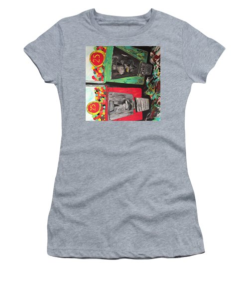 Women's T-Shirt (Junior Cut) featuring the painting 25cts by Olivier Calas
