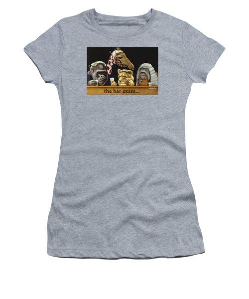 Bar Exam... Women's T-Shirt (Junior Cut) by Will Bullas